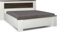 Двуспальная кровать Олмеко Амелия 36.02-02 (белый лофт/дуб стайлинг) -