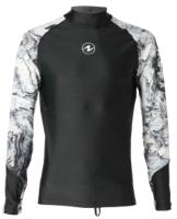 Гидромайка для плавания Aqua Lung Sport Rashguard Aqua Men Ls / CL1990109M (M) -