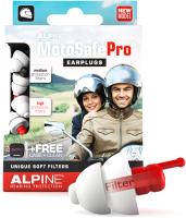 Набор берушей для мотоциклистов Alpine Hearing Protection MotoSafe Pro / 111.23.112 -