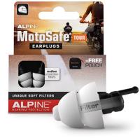 Набор берушей для мотоциклистов Alpine Hearing Protection MotoSafe Tour Minigrip / 111.23.110 -