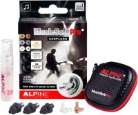 Беруши для музыкантов Alpine Hearing Protection MusicSafe Pro / 111.24.105 (черный) -
