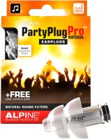 Беруши для музыкантов Alpine Hearing Protection PartyPlug Pro Natural / 111.21.600 -