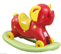 Качалка детская Pilsan Слон / 07523 (красный) -