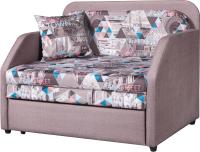 Кресло-кровать Анмикс Кейт (принт Town Brown) -