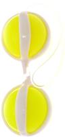 Шарики интимные Baile Be Mine Balls / BI-014048.77 (желтый) -
