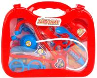 Набор доктора детский Играем вместе Доктор Айболит / B1110917-R (14 предметов) -