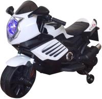 Детский мотоцикл Bugati ST00053-WH-BK (белый/черный) -