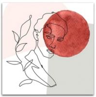 Картина Orlix Красный шар / CA-12838 -