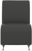 Модуль мягкий Euroforma Интер Хром IH1M Euroline 996 (железно-серый) -