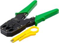 Инструмент обжимной ATcom KS-315 / AT9147 (RJ45, RJ11) -