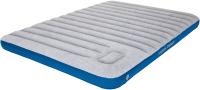 Надувной матрас High Peak Air Bed Cross Beam Double Extra Long / 40045 (светло-серый/синий) -
