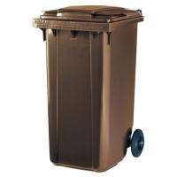 Контейнер для мусора Ese 240л (коричневый) -
