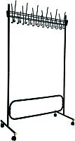 Вешалка для одежды Титан Мета СКР (черный) -