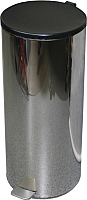 Мусорное ведро Титан Мета 40л (хром) -