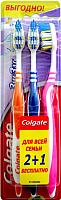 Зубная щетка Colgate ЗигЗаг 2+1 -