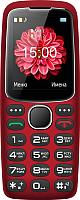 Мобильный телефон Texet TM-B307 (красный) -
