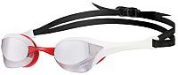 Очки для плавания ARENA Cobra Ultra Mirror 1E032 515 (Silver/White/Red) -