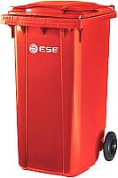 Контейнер для мусора Ese 120л (красный) -