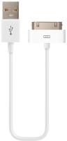 Кабель Olmio USB 2.0 - 30pin / 038838 (1м, белый) -