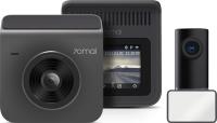 Автомобильный видеорегистратор Xiaomi 70Mai Dash Cam A400-1 + камера заднего вида RC09 (серый) -