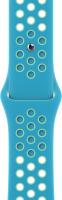 Ремешок для умных часов Apple Chlorine Blue/Green Glow Nike Sport Band 40mm / MJ6H3 -