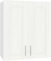 Шкаф навесной для кухни Кортекс-мебель Корнелия Ретро ВШ60 (ясень белый) -
