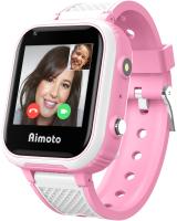 Умные часы детские Aimoto Pro Indigo 4G / 9500103 (розовый) -