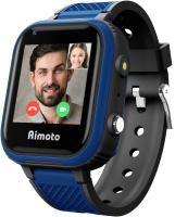 Умные часы детские Aimoto Pro Indigo 4G / 9500102 (черный) -