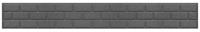 Бордюр садовый Orlix Bricks EU5000164 (серый) -