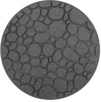 Плитка садовая Orlix Round River Rock EU5000093 (серый) -