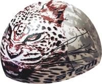 Шапочка для плавания Atemi PSC425 (белый/леопард) -