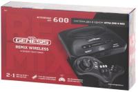 Игровая приставка Retro Genesis Remix Wireless (8+16Bit) 600 игр -
