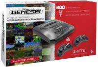 Игровая приставка Retro Genesis Sega Modern Wireless 300 игр + 2 джойстика -