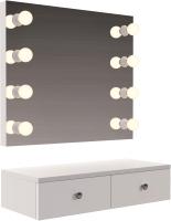 Туалетный столик с зеркалом Мир Мебели SV-34 с подсветкой -
