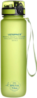 Бутылка для воды UZSpace Colorful Frosted / 3038 (1л, салатовый) -