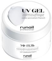 Моделирующий гель для ногтей RuNail Камуфлирующий УФ-гель №4070 (15г) -
