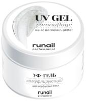 Моделирующий гель для ногтей RuNail Камуфлирующий УФ-гель №4071 (15г) -