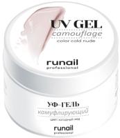 Моделирующий гель для ногтей RuNail Камуфлирующий УФ-гель №4072 (15г) -