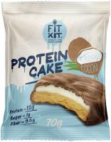 Протеиновое печенье Fit Kit Тропический кокос (70г) -