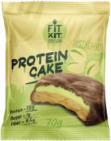 Протеиновое печенье Fit Kit Фисташковый крем (70г) -