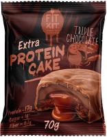 Протеиновое печенье Fit Kit Тройной шоколад (70г) -