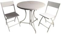 Комплект садовой мебели Domm MY0001K (белый) -