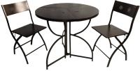 Комплект садовой мебели Domm MY0001М (металлический/темная бронза) -