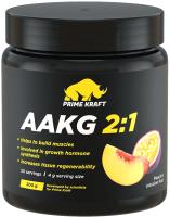 Аминокислоты Prime Kraft AAKG 2:1 (200г, персик-маракуйя) -
