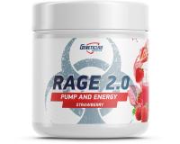 Предтренировочный комплекс Geneticlab Rage 2.0: Клубника -