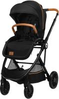 Детская прогулочная коляска Lionelo Dani (черный) -