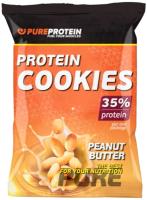 Протеиновое печенье Pureprotein 35% Protein Cookies (80г, арахисовое масло) -