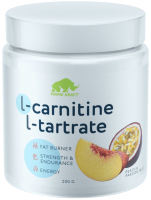 L-карнитин Prime Kraft L-Tartrate (200г, персик-маракуйя) -