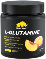 L-глютамин Prime Kraft L-Glutamine (200г, персик-маракуйя) -