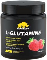 L-глютамин Prime Kraft L-Glutamine (200г, клубника) -